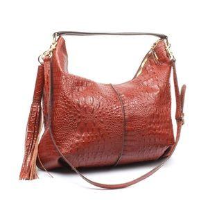 NWOT GILI leather hobo